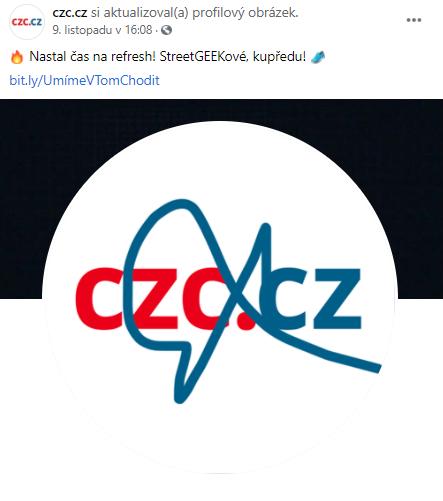 Reakce e-shopu CZC.cz