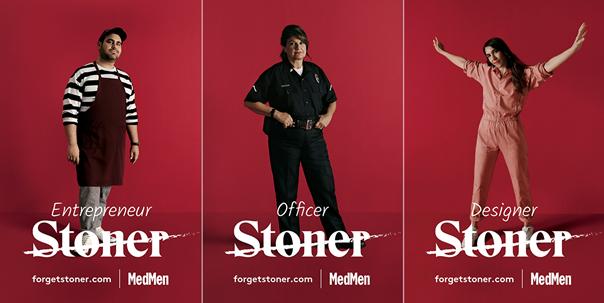 Kampaň od společnosti MedMen, snaha se změnit pohled na uživatele konopí